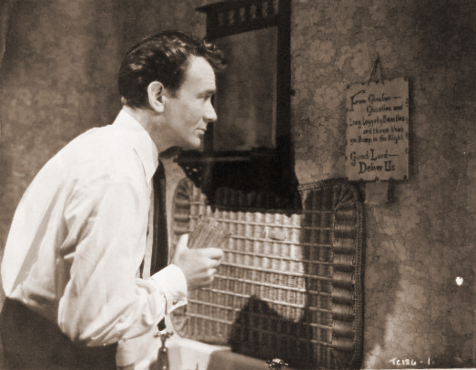 John Mills (as Jim Ackland) in a photograph from The October Man (1947) (6)