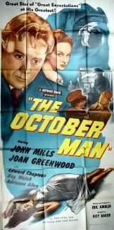 Poster for The October Man (1947) (2)