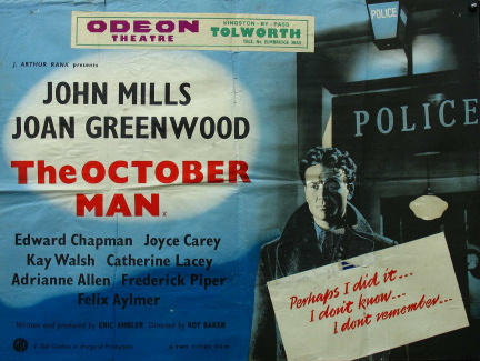 Poster for The October Man (1947) (5)