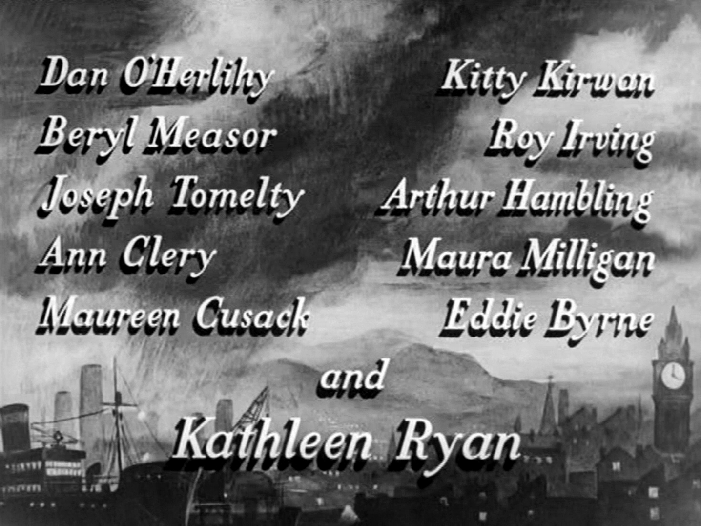 Main title from Odd Man Out (1947) (6)