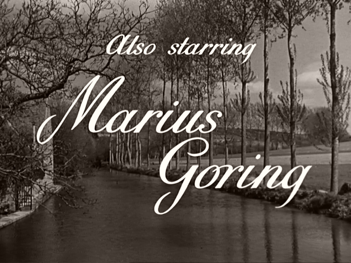 Main title from Odette (1950) (5). Also starring Marius Goring