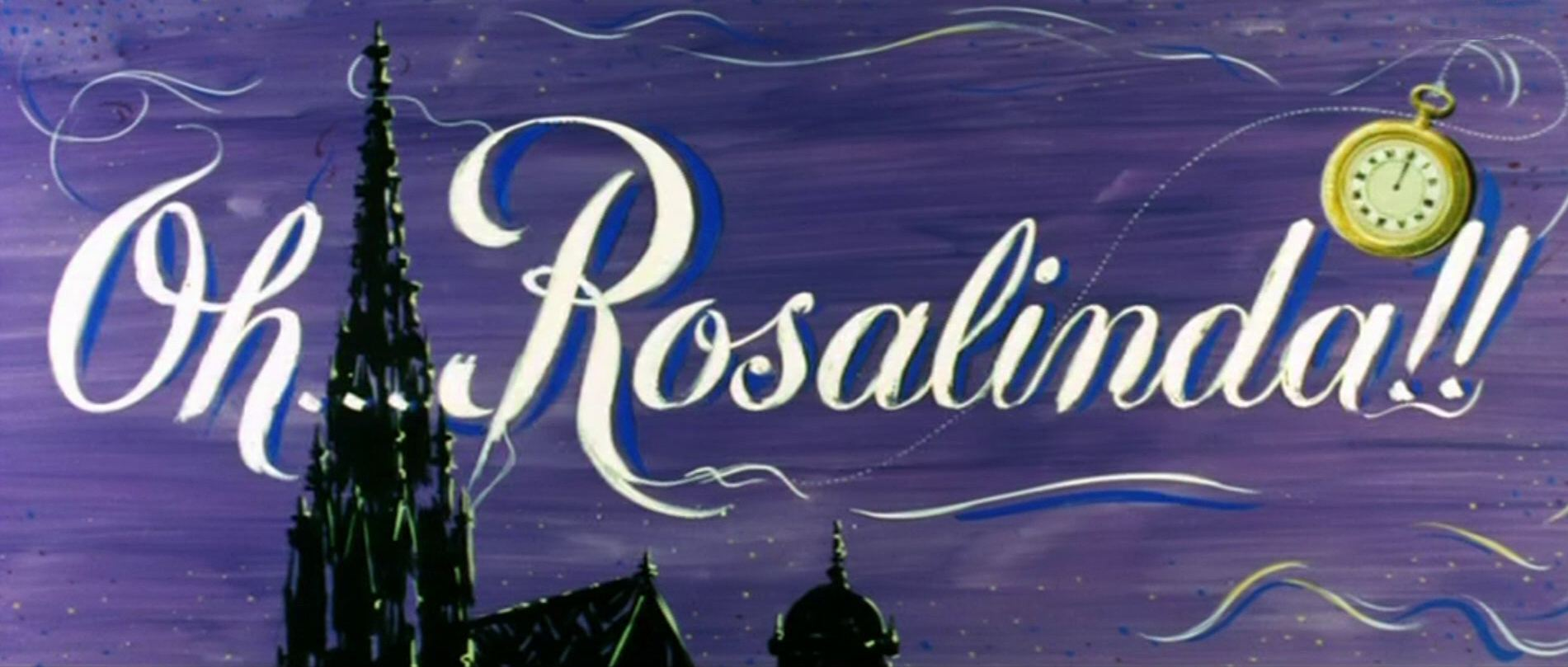 Main title from Oh… Rosalinda!! (1955) (3)