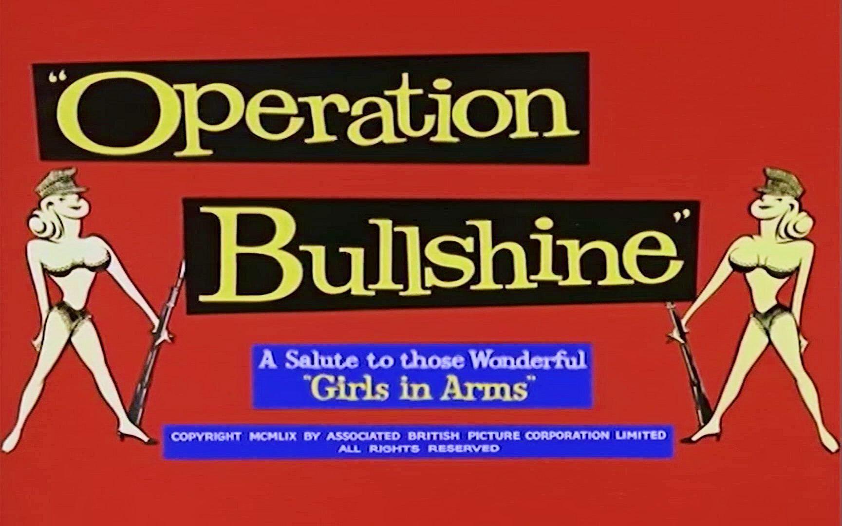 Main title from Operation Bullshine (1959) (2)