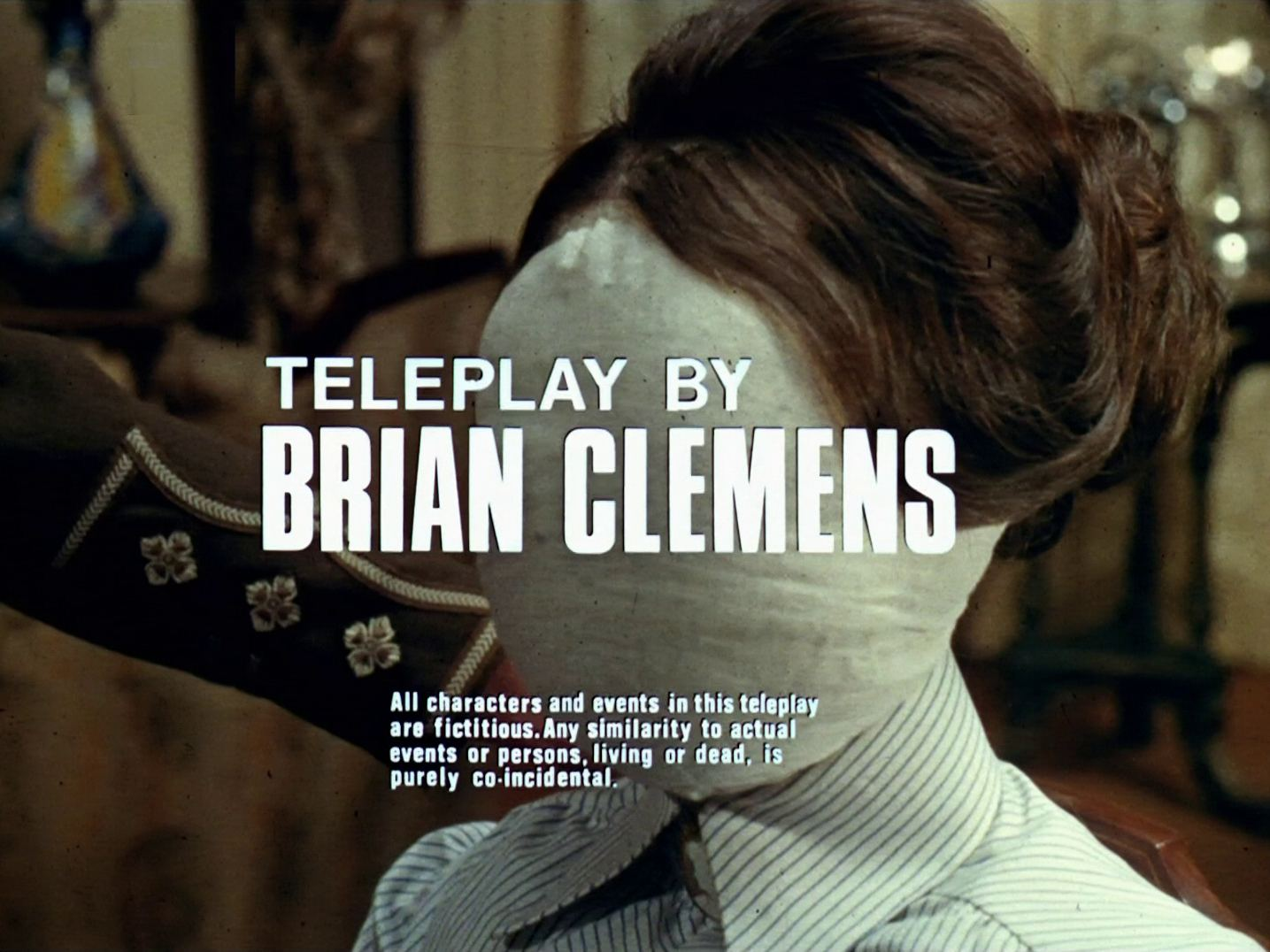 Main title from the 1969 'Pandora' episode of The Avengers (1961-69) (2). Teleplay by Brian Clemens