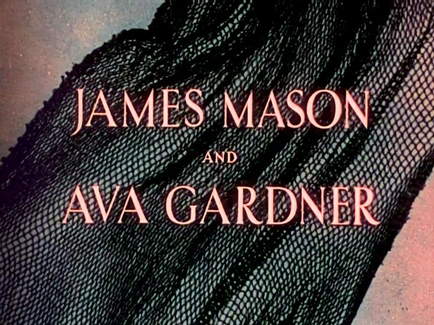 Main title from Pandora and the Flying Dutchman (1951) (1). James Mason and Ava Gardner
