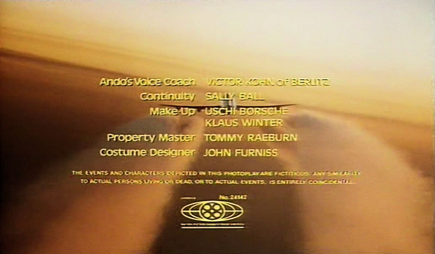 Main title from Paper Tiger (1975) (13)