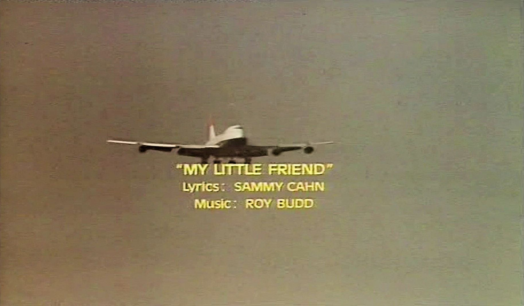 Main title from Paper Tiger (1975) (17).  'My Little Friend'.  Lyrics: Sammy Cahn.  Music: Roy Budd