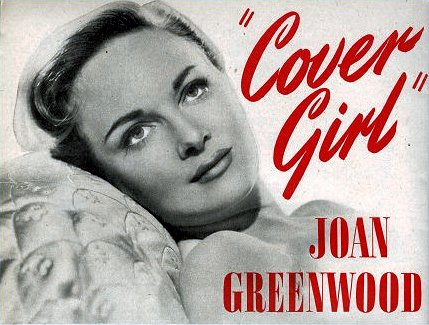 Photoplay magazine with Joan Greenwood.  June, 1952.  Cover girl Joan Greenwood.