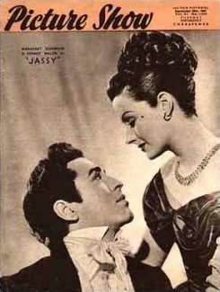Picture Show magazine with Dermot Walsh and  Margaret Lockwood in Jassy.  20th September, 1947.