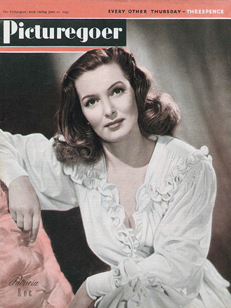 Picturegoer magazine with Patricia Roc.  June, 1947.