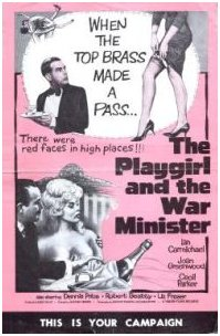 American poster for The Playgirl and the War Minister [The Amorous Prawn] (1962) (1)