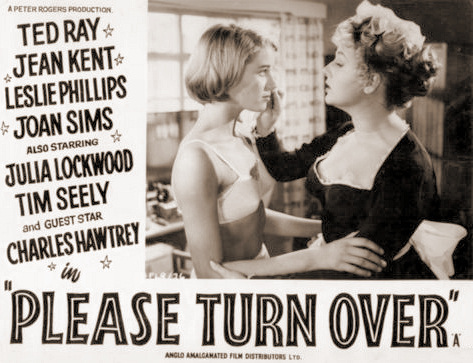 Lobby card from Please Turn Over (1959) (1)