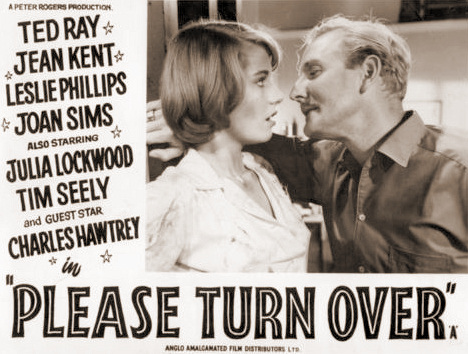 Lobby card from Please Turn Over (1959) (2)