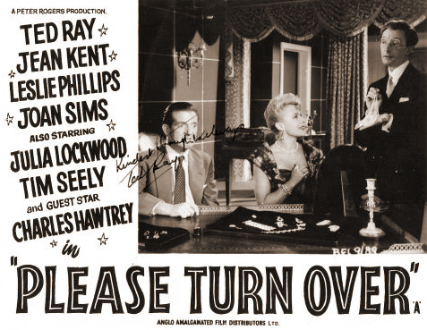Lobby card from Please Turn Over (1959) (3)