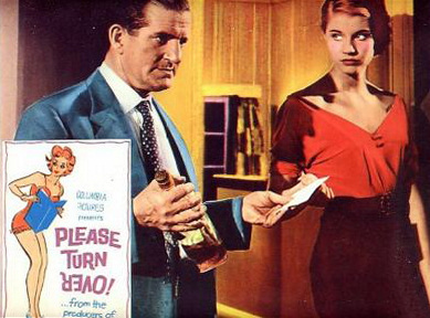 Lobby card from Please Turn Over (1959) (4)