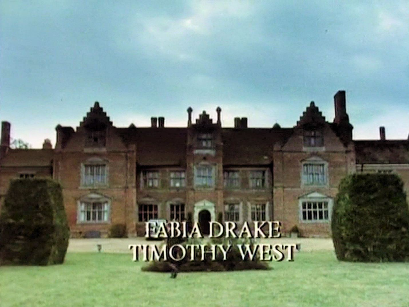 Main title from the 1987 'A Pocket Full of Rye' episode of Agatha Christie's Miss Marple (1984-1992) (5). Fabia Drake, Timothy West