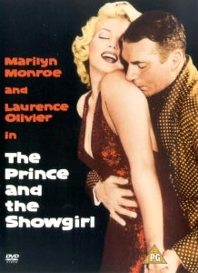 The Prince and the Showgirl DVD with Marilyn Monroe and Laurence Olivier