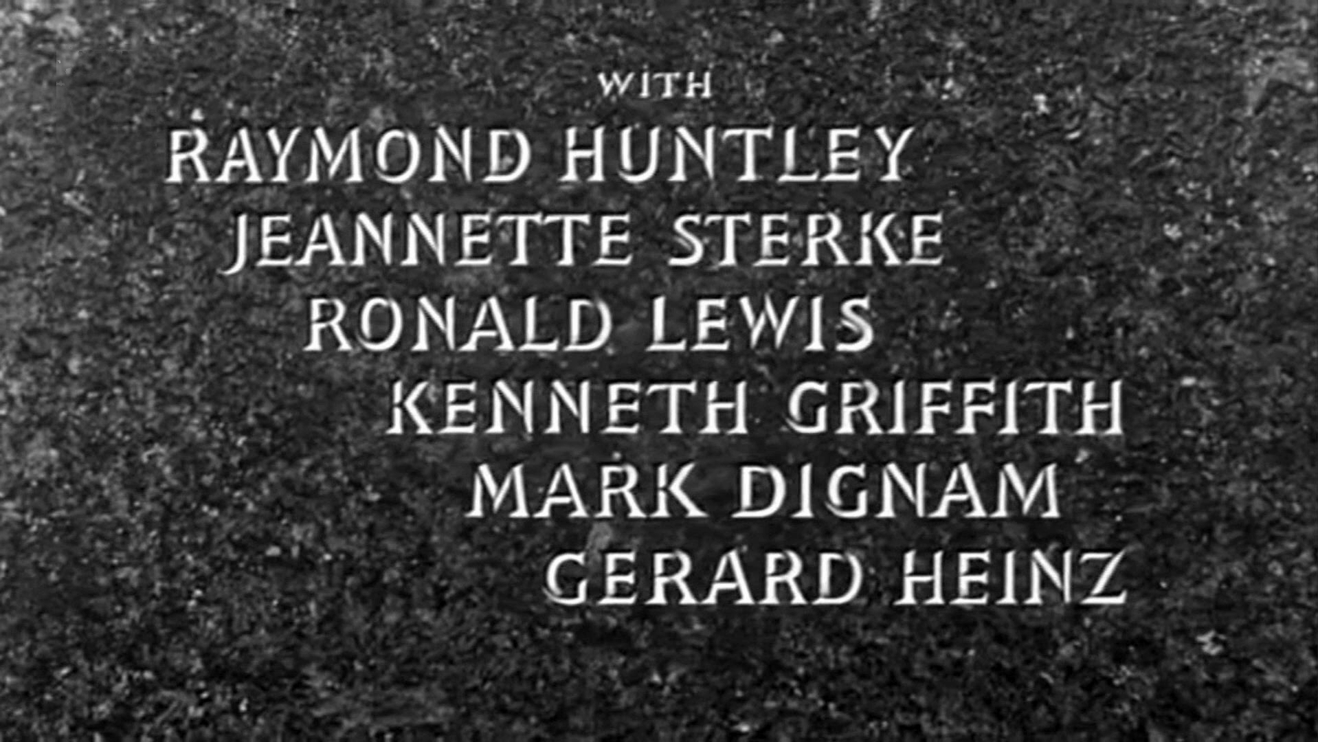 Main title from The Prisoner (1955) (4). With Raymond Huntley, Jeanette Sterke, Ronald Lewis, Kenneth Griffith, Mark Dignam, Gerard Heinz