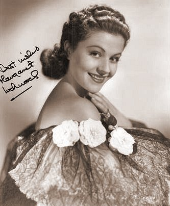 A signed publicity portrait of Margaret Lockwood from Paramount Pictures