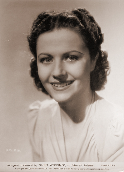 Margaret Lockwood (as Janet Royd) in a photograph from Quiet Wedding (1941) (7)