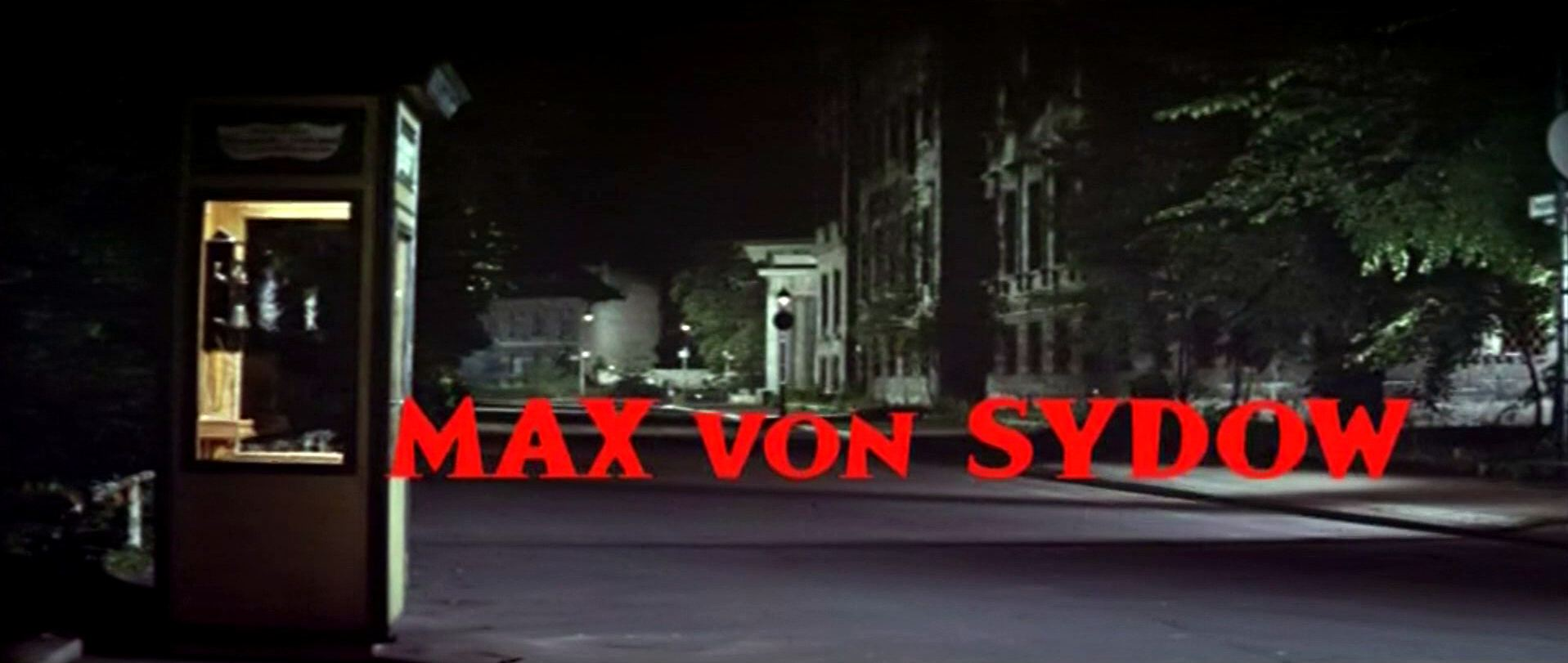 Main title from The Quiller Memorandum (1966) (6). Max von Sydow