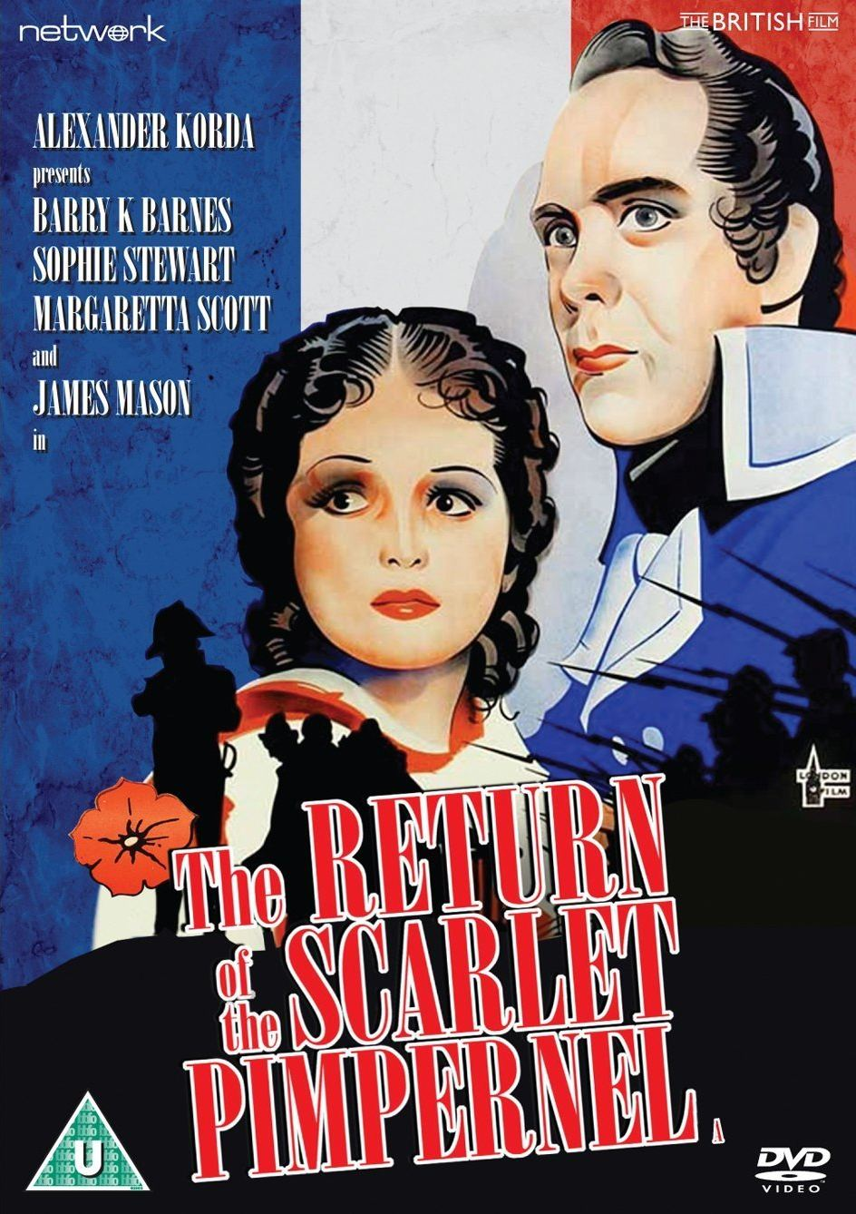 The Return of the Scarlet Pimpernel DVD from Network and The British Film