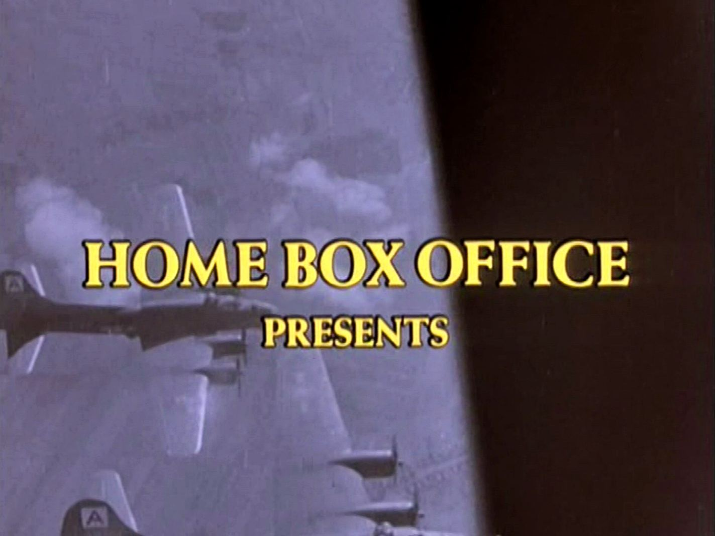 Main title from Reunion at Fairborough (1985) (2).  Home Box Office presents