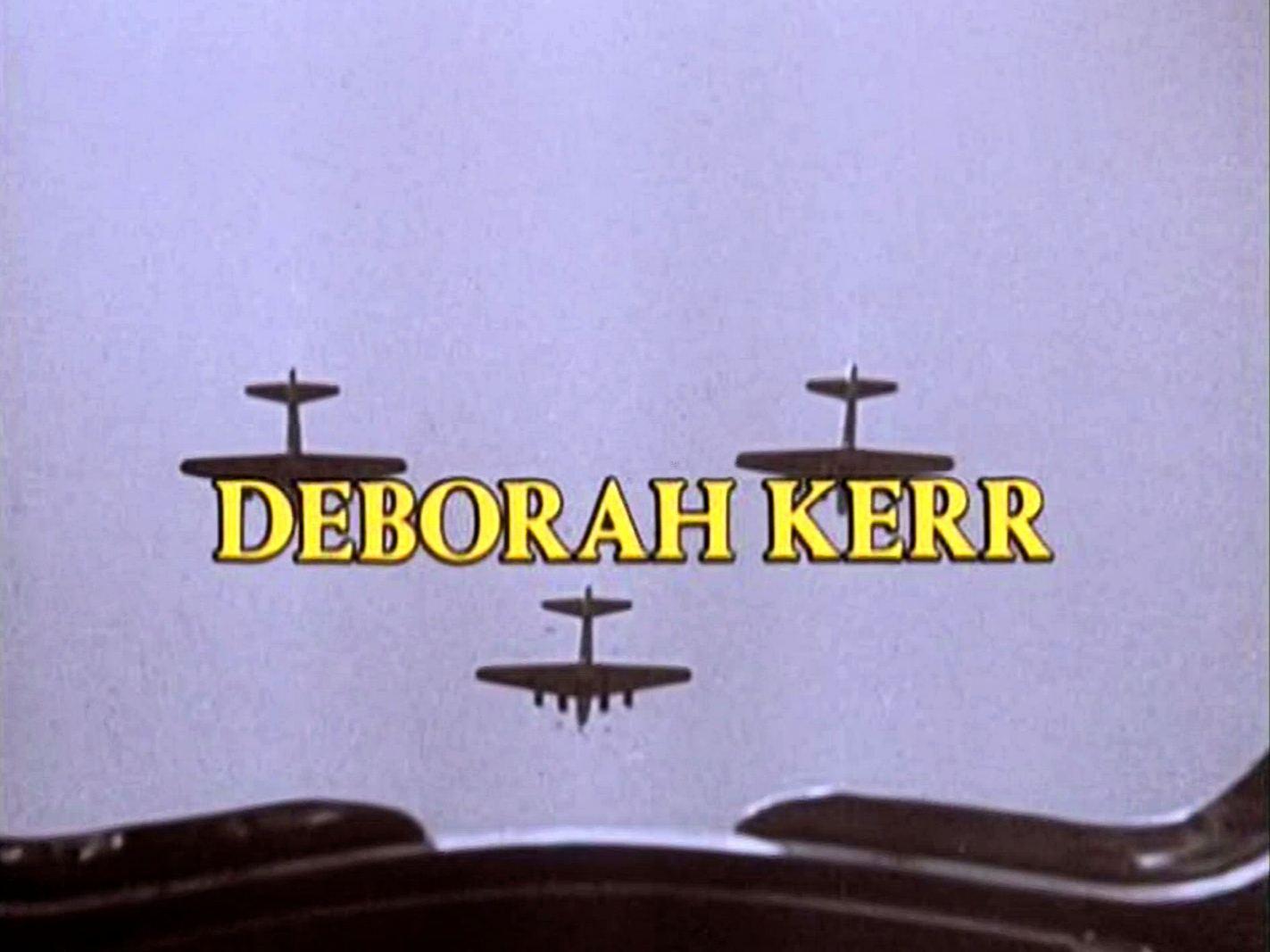 Main title from Reunion at Fairborough (1985) (4).  Deborah Kerr