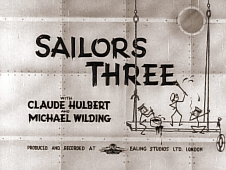 Main title from Sailors Three (1940)