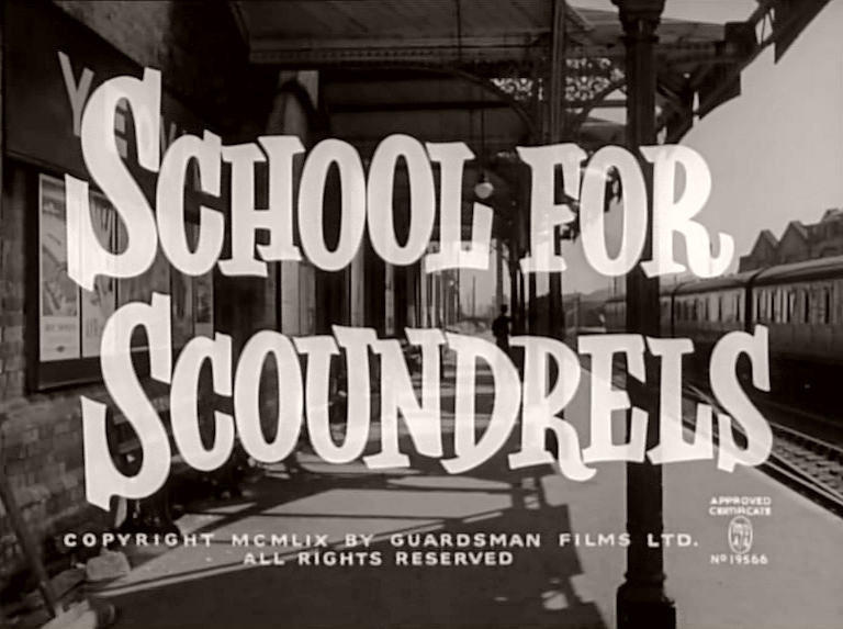 Main title from School for Scoundrels (1960)