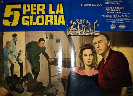 Italian lobby card from The Secret Invasion (1964) (1)