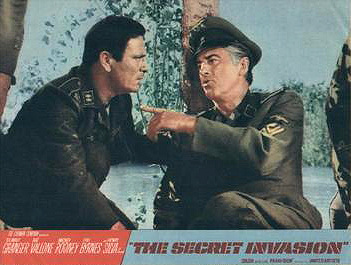 Lobby card from The Secret Invasion (1964) (1)
