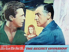 Lobby card from The Secret Invasion (1964) (2)