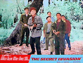 Lobby card from The Secret Invasion (1964) (3)