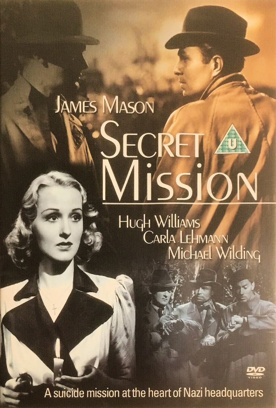 Secret Mission DVD with Carla Lehmann and James Mason