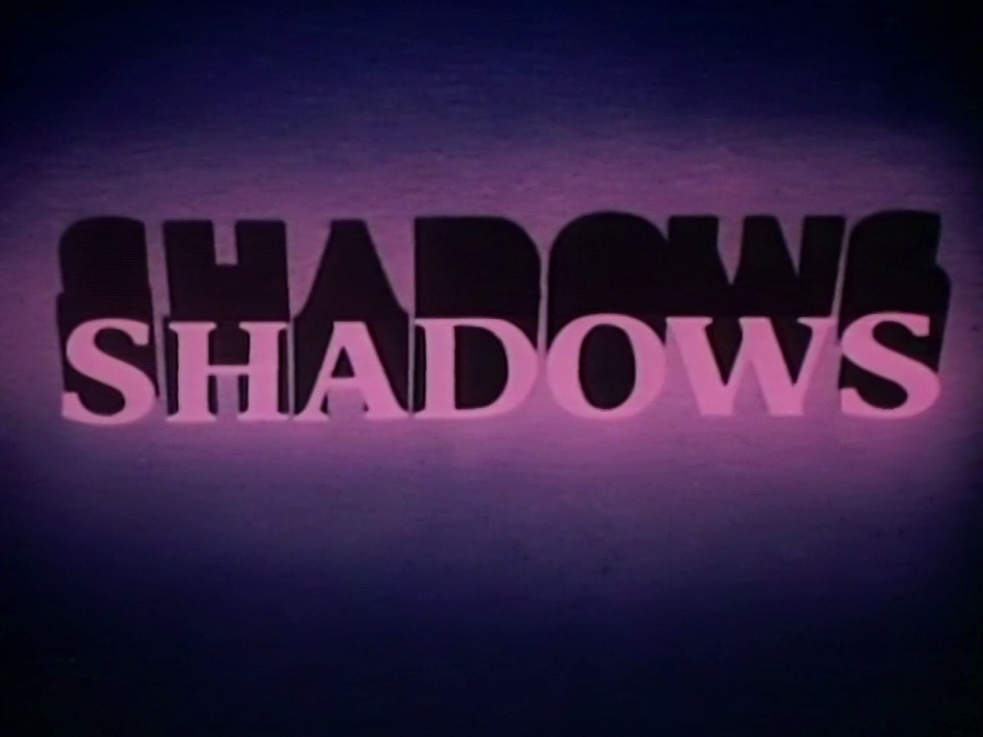 Main title from Season 3 of Shadows (1975-78) (3)