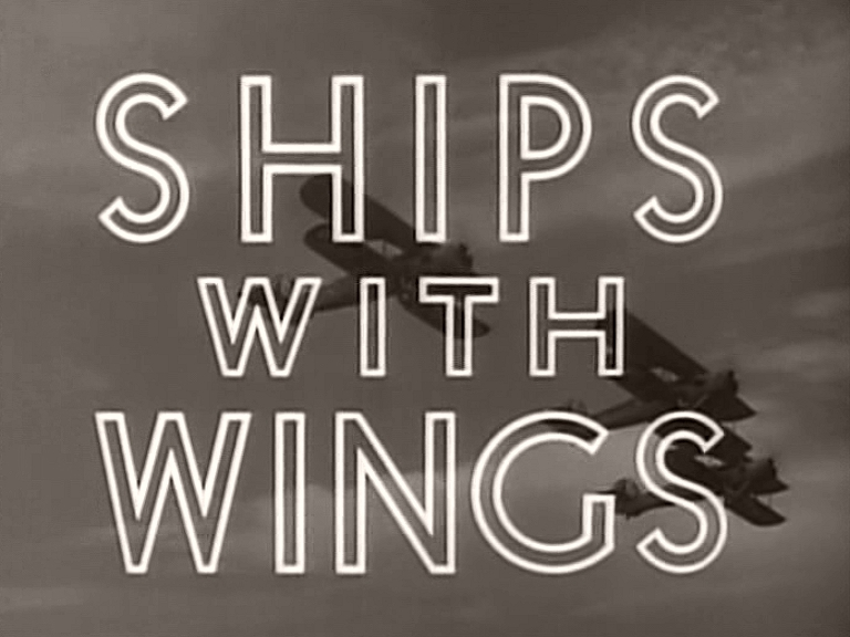Main title from Ships with Wings (1941)