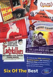 Poster for Six of the Best, a season of Ealing Comedies at UGC cinemas