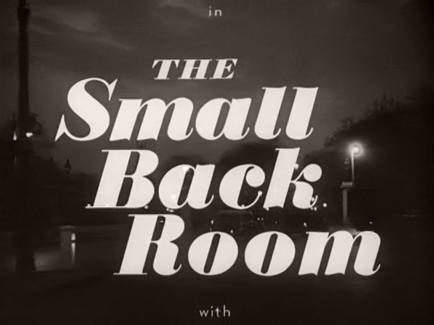 The Small Back Room 1949