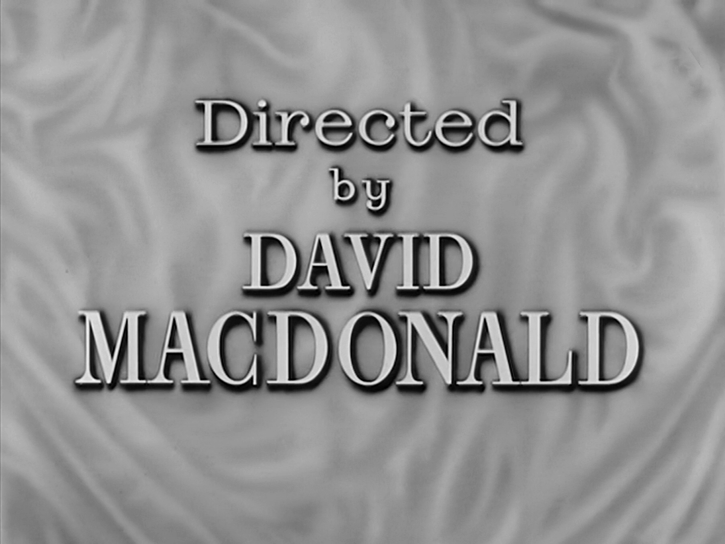 Main title from Small Hotel (1957) (12). Directed by David MacDonald