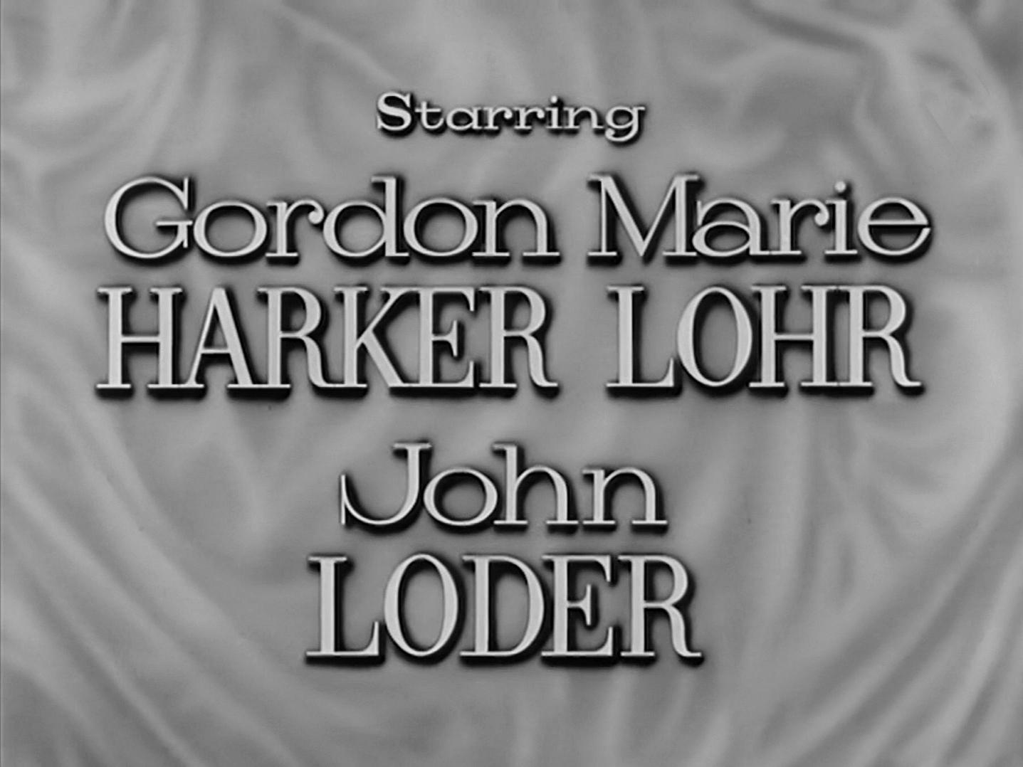 Main title from Small Hotel (1957) (4). Starring Gordon Harker, Marie Lohr, John Loder
