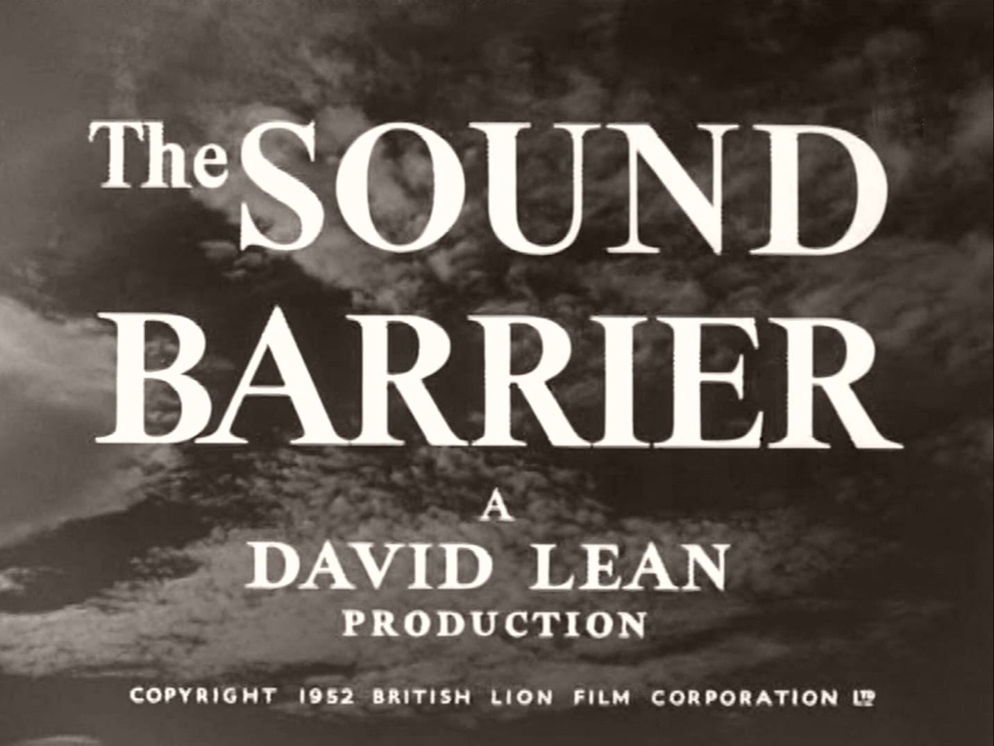 Main title from The Sound Barrier (1952) (2)