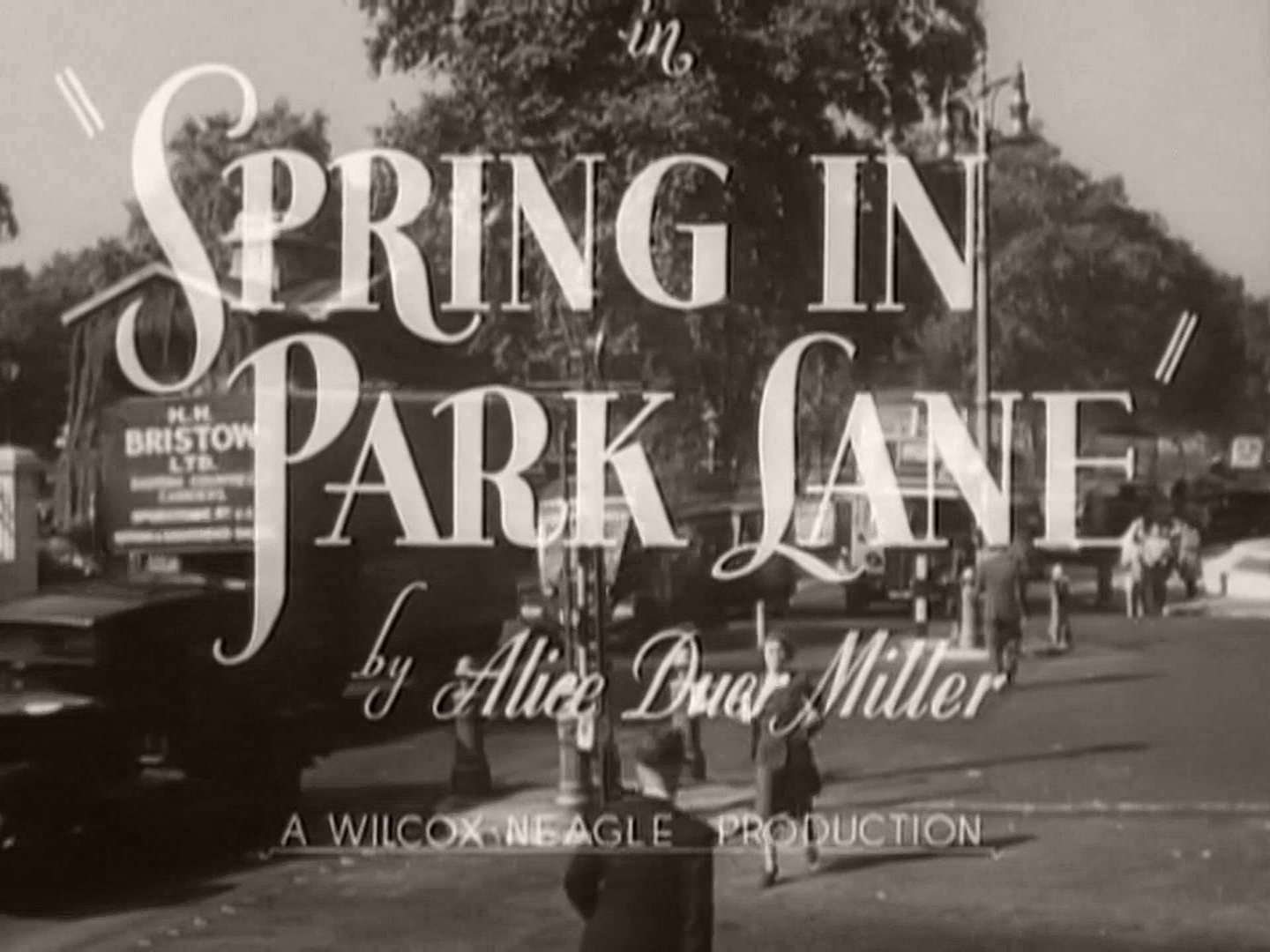 Main title from Spring in Park Lane (1948) (4). By Alice Duer Miller