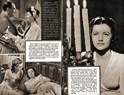 Star Souvenir magazine with Ian Hunter, Margaret Lockwood, and  Patricia Roc in Night Train to Munich.