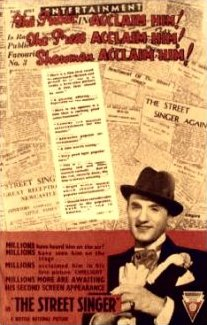 Poster for The Street Singer (1937) (2)