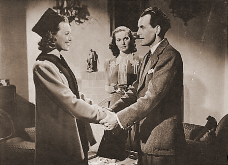 Patricia Roc (as Joan Raynor) in a photograph from Suspected Person (1942) (3)