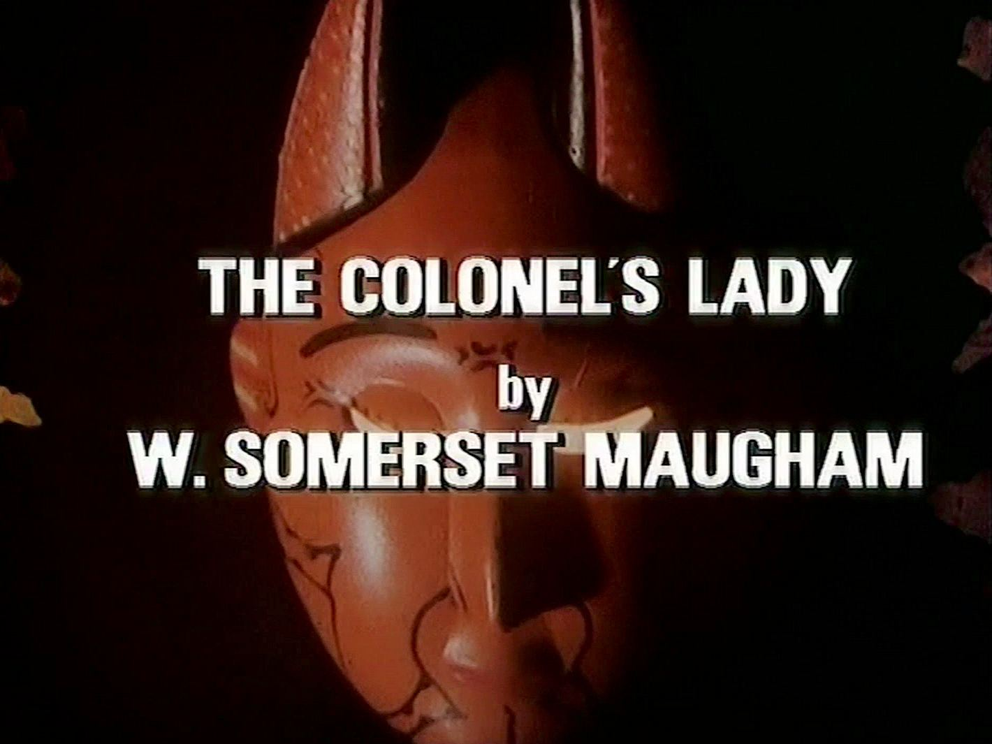 Main title from the 1982 episode of Tales of the Unexpected (1979-88), The Colonel's Lady (1982) opening credits (4). By W Somerset Maugham