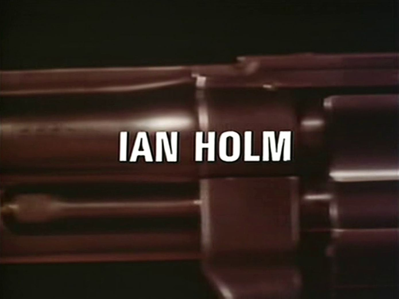 Main title from the 1982 episode of Tales of the Unexpected (1979-88), Death Can Add (1982) opening credits (2). Ian Holm