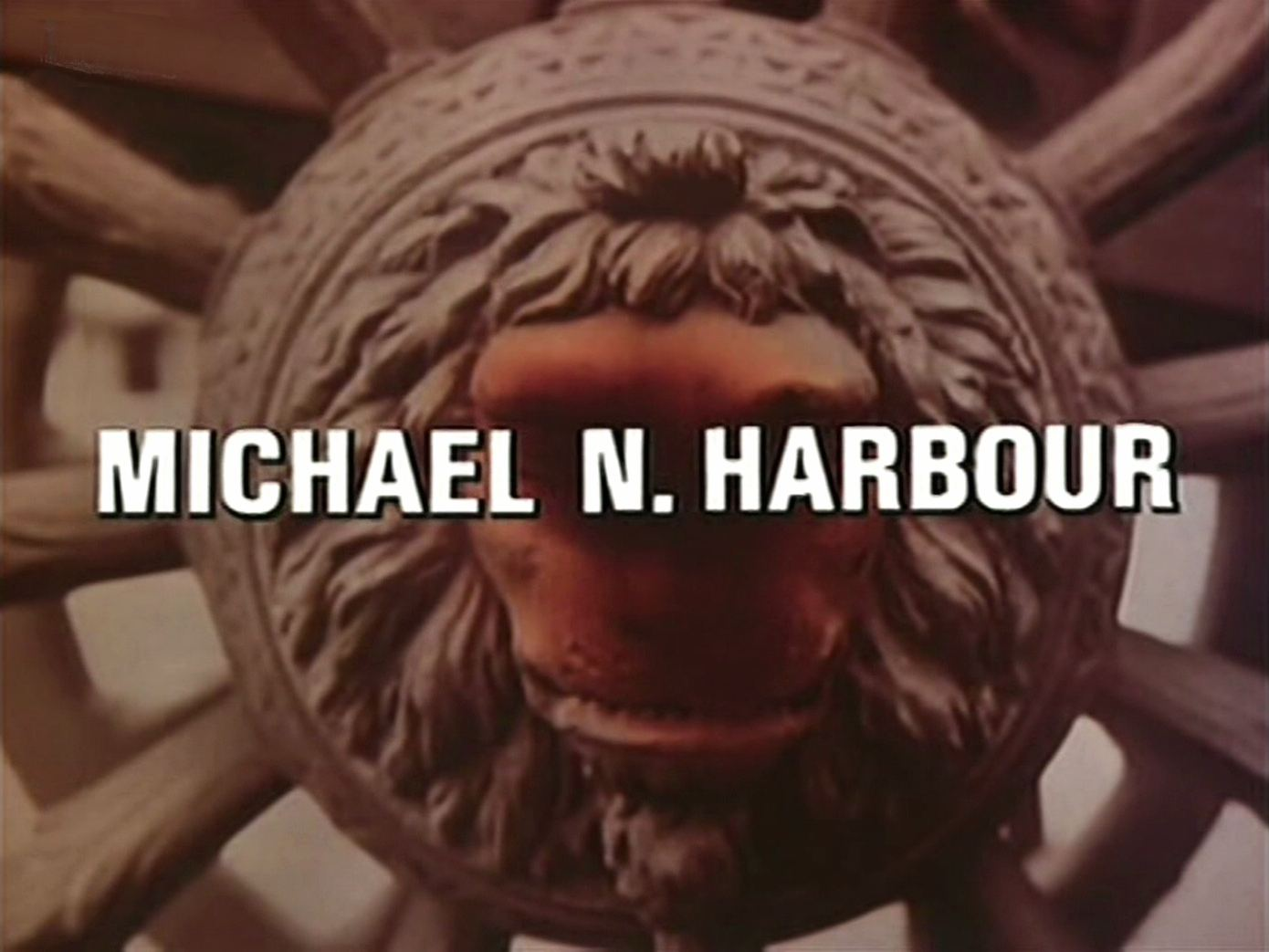 Main title from the 1982 episode of Tales of the Unexpected (1979-88), Death Can Add (1982) opening credits (3). Michael N Harbour