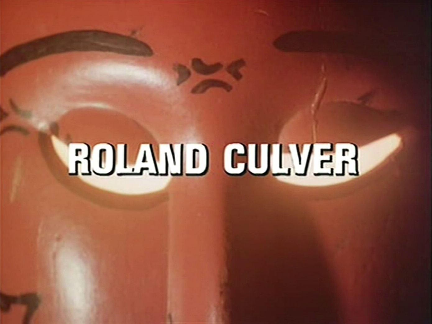 Main title from the 1982 episode of Tales of the Unexpected (1979-88), Death Can Add (1982) opening credits (4). Roland Culver